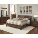 Yorkshire Rustic Queen Size 5pc Bedroom Set