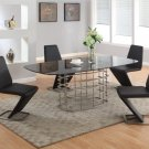 Abby 5 Piece Dining Set by Chintaly