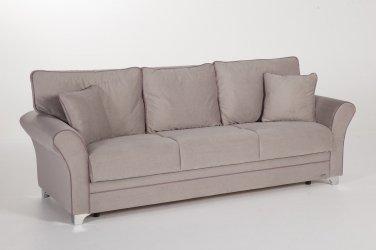 Padova Convertible Sofa Bed in Paris Gray