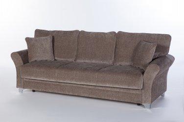 Padova Convertible Sofa Bed in Jennefer Vizon