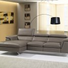 Angela Premium Leather Sectional by J&M Furniture