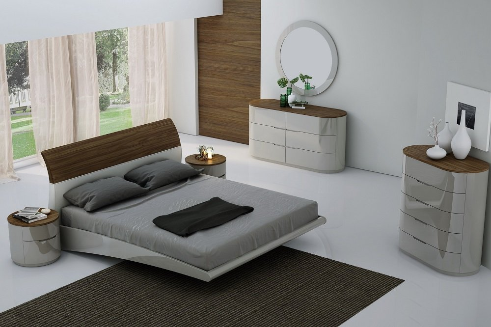 Amsterdam king Size Bedroom Set by J&M