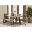 Levine Contemporary 6 Piece Dining Set