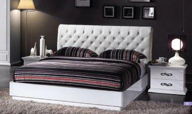 Glam Queen Size 5pc Bedroom Set
