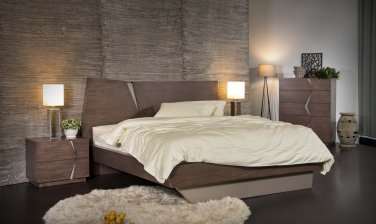 Athens 5pc Queen Size Bedroom Set