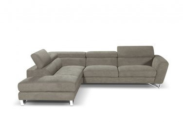 Sparta Italian Sectional In Fabric