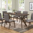 Kelly Retro Style 7pc Dining Set
