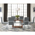 Bianca Modern Style 7pc Dining Set