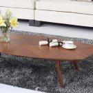 Mid-century Style Walnut Finish Coffee Table