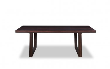 Minimalist Style Wenge Finish Coffee Table