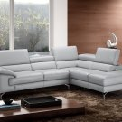 Olivia Premium Leather Sectional by J&M Furniture
