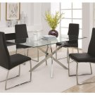 Natalia Modern 5pc Dining Set