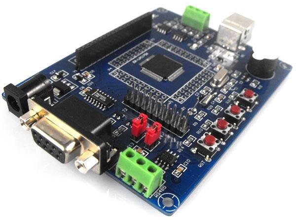 QQ1752 development board (LPC1752), support USB program download!