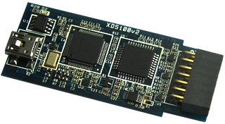 XDS100v2 emulator supports Cortex-A8, DSP and other chips