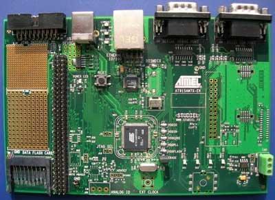 AT91SAM7X256-EK development board