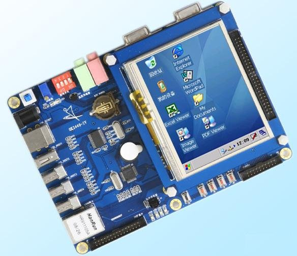 FL2440 development board + 3.5 inch touch screen