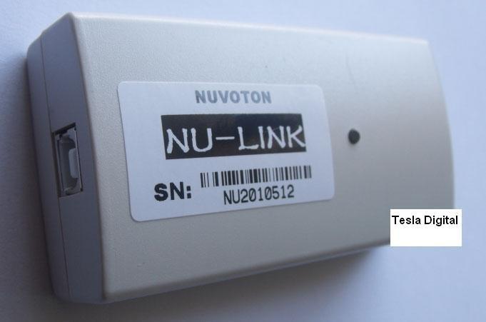 Nuvoton M0 NU-LINK support for programming simulation debugging (off-line burning support)