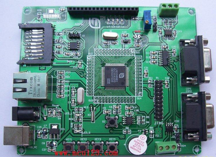 LM3S8962 board (TI cortex m3)