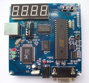 TCP / IP development board microcontroller (MCU Internet)