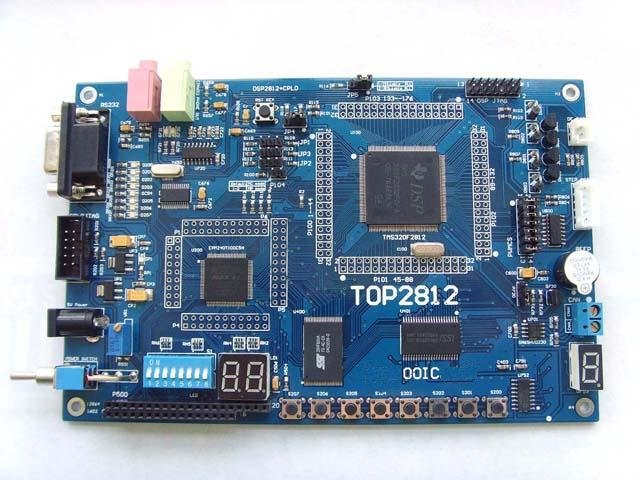 DSP2812 + CPLD development board TOP2812 emulator with USB2.0