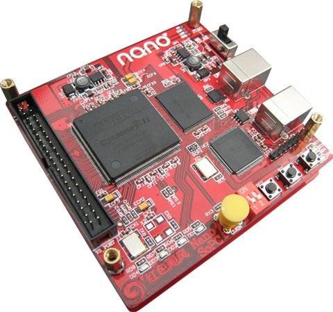 Red Hurricane NanoSoPC Development Kit (RCN-2C8 development board)