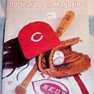 '80 Cincinnati Reds Yearbook Baseball Foster Concepcion