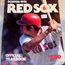 76 Boston Red Sox Yearbook Baseball Carlton Pudge Fisk