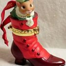 Hallmark Fashion Afoot Mouse Boot '00 Porcelain NEW MIB...10034
