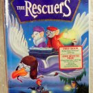 Walt Disney Rescures VHS NEW in Clam shell case