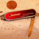 Sheffield Stainless Steel Multi Tool Pocket Knife