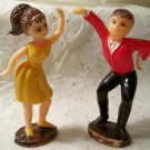 Hong Kong Plastic Swing Dance Boy Girl Figures