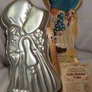 Vintage Wilton Holly Hobbie Cake Pan Paper Liner Party Pan 1975