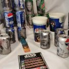 Star Wars Epsode I Pepsi Cans 26 / 2 Drink Cups / Book Mark