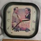 Vintage Sunset Movie Collector Clock Bruce Willis James Garner 1988 RCA Columbia