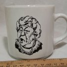 Vintage Wendy's 1984 Where's the Beef Coffee Mug Cup Clara Peller Advertising