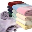 Home Classics Vellux (R) Blankets By West Point Martex Queen Solid Ivory