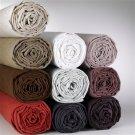 1000TC Queen Sheet Set Solid Beige 100% Pure Egyptian Cotton Deep Pocket