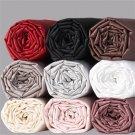 1000TC Queen Sheet Set Solid Black 100% Pure Egyptian Cotton Deep Pocket