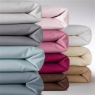 1000TC Queen Sheet Set Solid Chocolate 100% Pure Egyptian Cotton Deep Pocket
