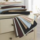 1000TC Queen Sheet Set Solid Taupe 100% Pure Egyptian Cotton Deep Pocket