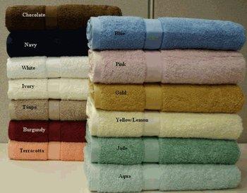 """2-Egyptian cotton Bath Sheet 35x70"""""""