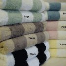 2-PC Striped Egyptian cotton Bath Sheets