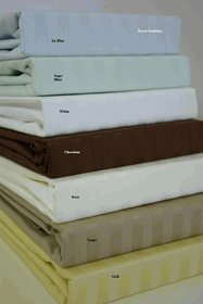 800 Thread count Queen size Sateen Stripe sheet sets, 100% Egyptian cotton
