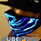 Electro Dust Blue Rave Light Up LED Mask