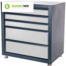 Steel Tools Cabinet 5 Drawers Storage Chest Heavy Duty Locking System Box Large