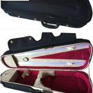 Vio Music® Dart Shaped Light Portable Suspension Violin Carry Case with Hygrome