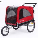 Sepnine 3-1 Large Sized Bike Trailer Bicycle Pet Trailer Jogger Dog Cage 10308