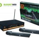 Mr. Dj MIC-VHF3800 Professional Wireless Microphone System