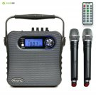 Hisonic HS488 UHF Dual Channel Wireless PA system with Bluetooth, MP3 Player, FM