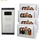 """AMOCAM Video Intercom Entry System, Wired 7"""" LCD Monitor Video Door Phone Kits,"""